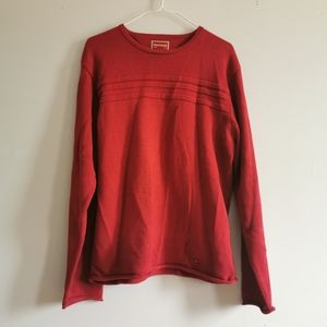 ⭕(2/$20) Tommy Hilfiger Red Label Red sweater